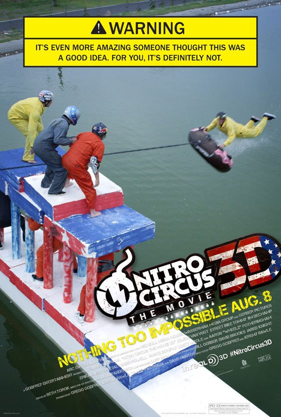 Nitro Circus: The Movie Poster #1
