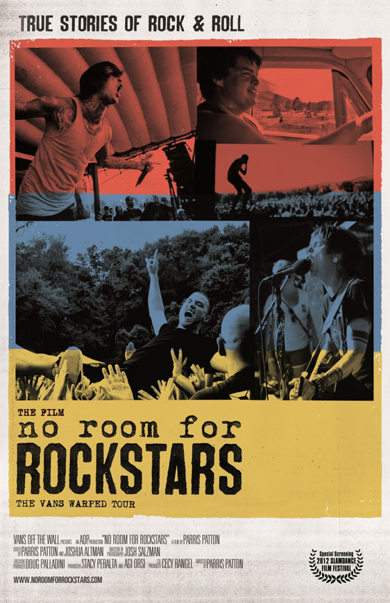 No Room for Rockstars Poster