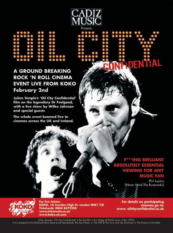 Oil City Confidential Poster #1