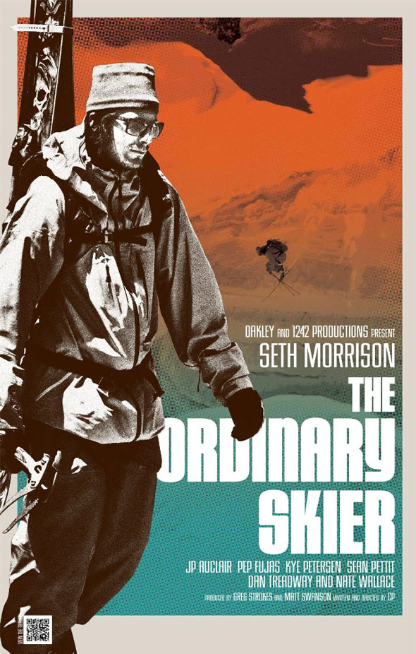 The Ordinary Skier Poster