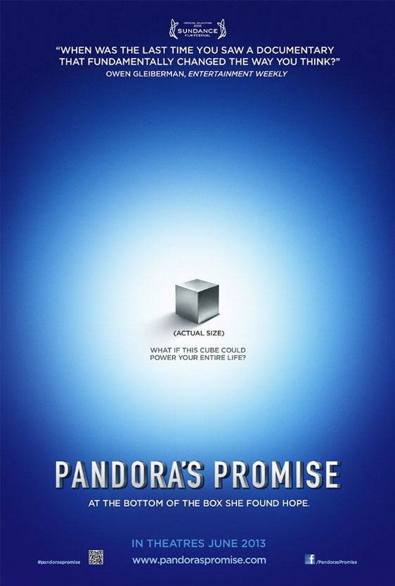 Pandora's Promise Poster #1