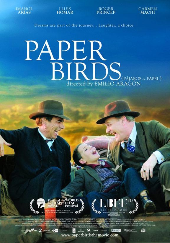 Paper Birds Poster