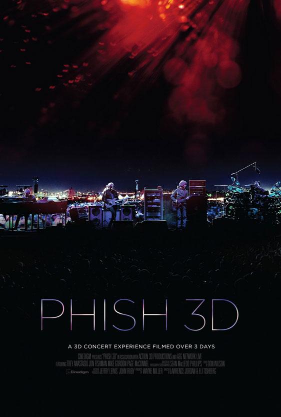 Phish 3D Poster