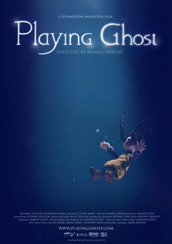 Playing Ghost Poster