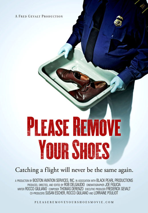 Please Remove Your Shoes Poster #1