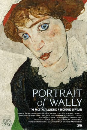 Portrait of Wally Poster