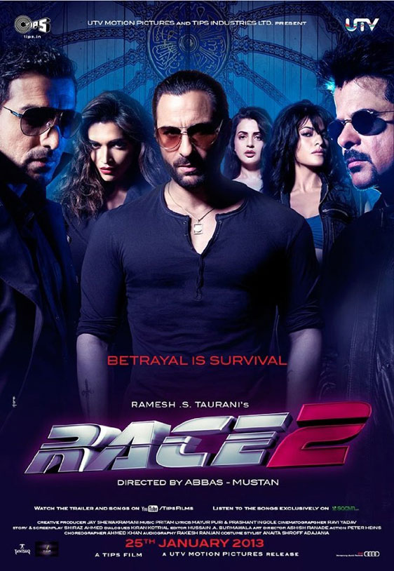 Race 2 Poster #1