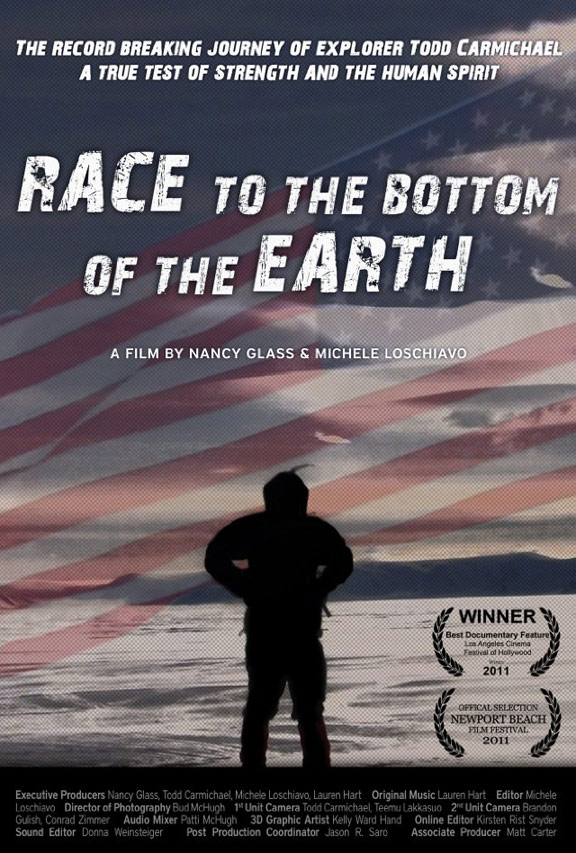 Race to the Bottom of the Earth Poster