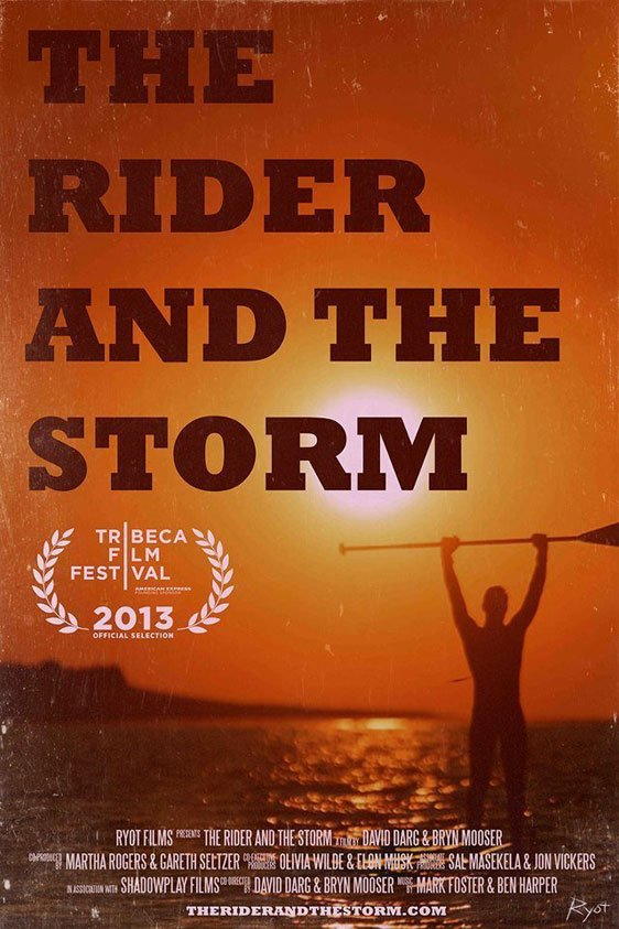 The Rider and the Storm Poster