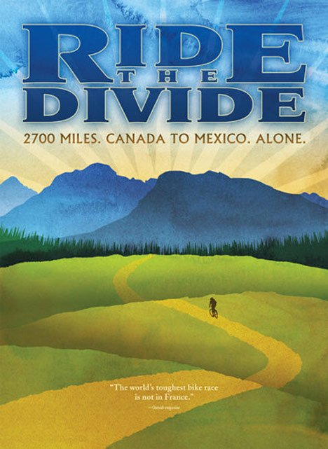 Ride the Divide Poster #1