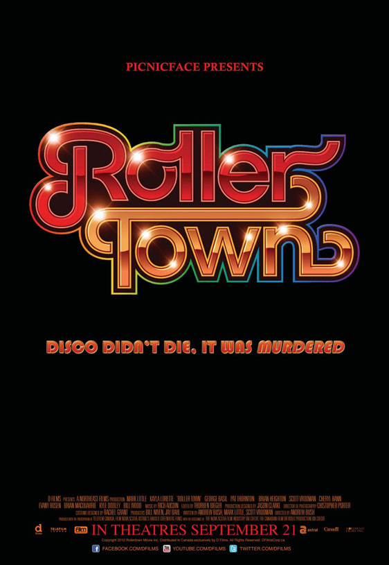 Roller Town Poster