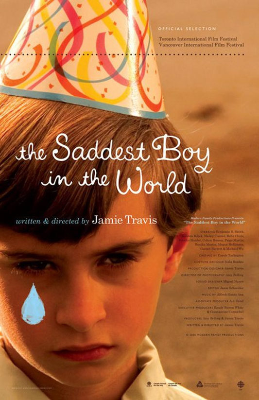 The Saddest Boy in the World Poster
