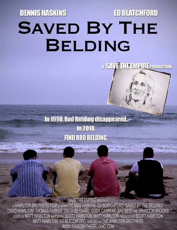 Saved by the Belding Poster