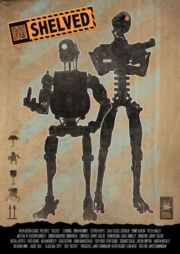 Shelved Poster