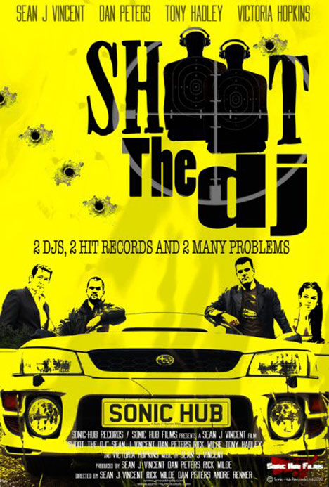 Shoot the DJ Poster