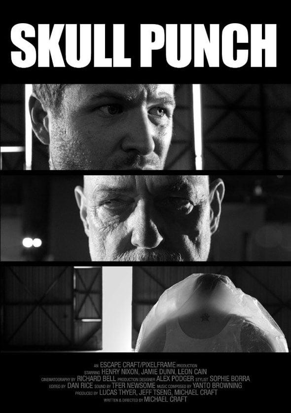 Skull Punch Poster