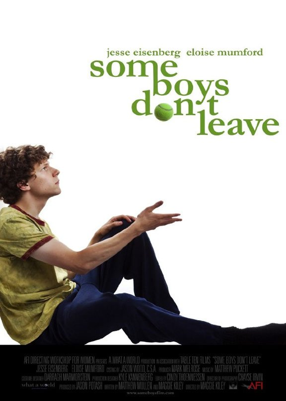 Some Boys Don't Leave Poster