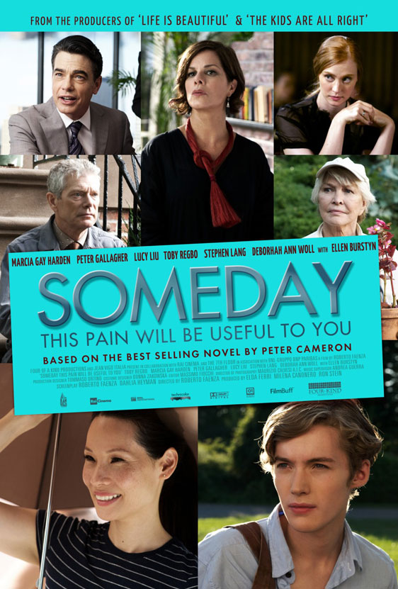 Someday This Pain Will Be Useful to You Poster