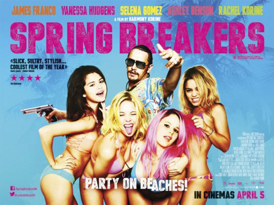 Spring Breakers Poster #12