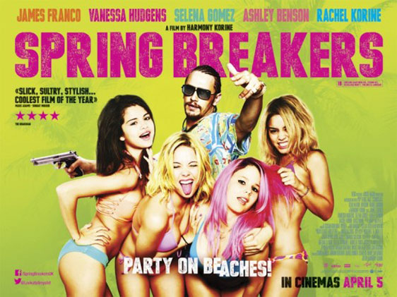 Spring Breakers Poster #13