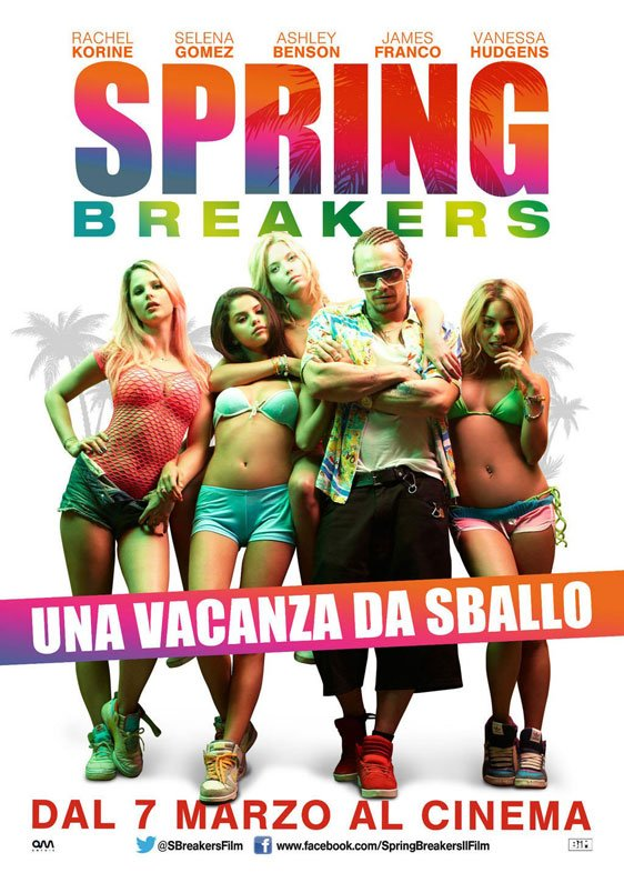 Spring Breakers Poster #3