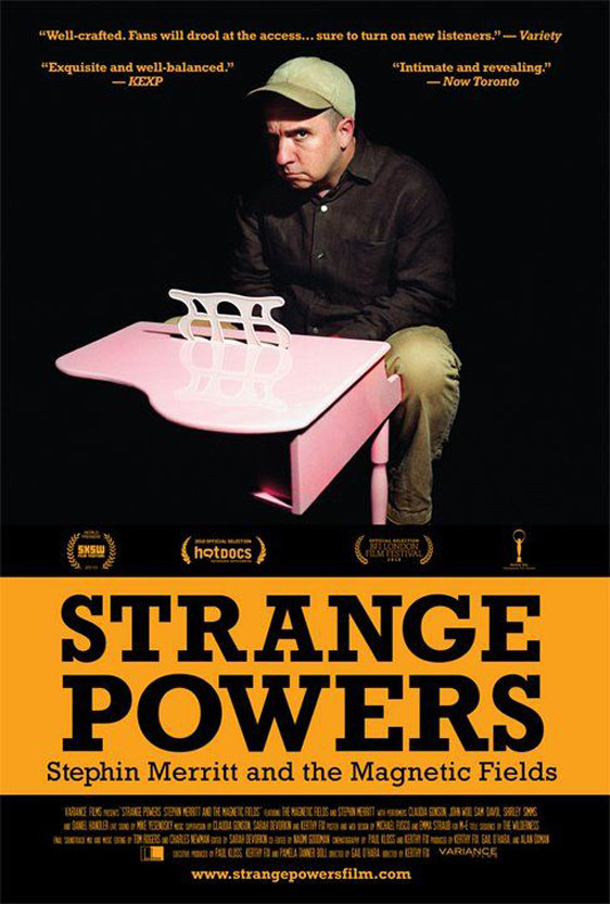Strange Powers: Stephin Merritt and the Magnetic Fields Poster #2