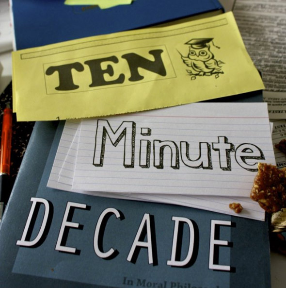 Ten Minute Decade Poster