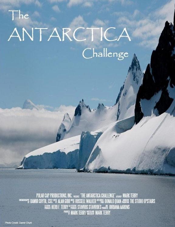 The Antarctica Challenge Poster