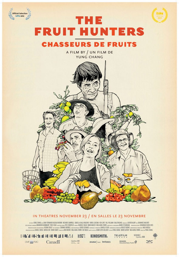 The Fruit Hunters Poster