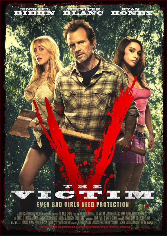 The Victim Poster #1