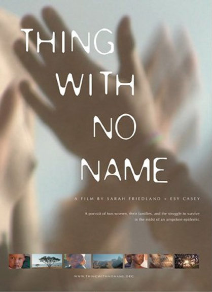 Thing with No Name Poster