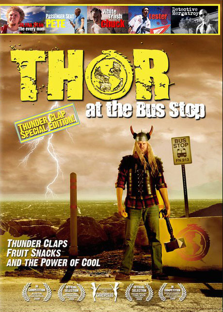 Thor at the Bus Stop Poster #1
