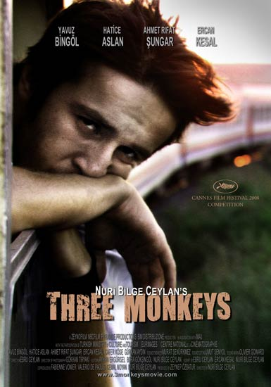 Three Monkeys Poster