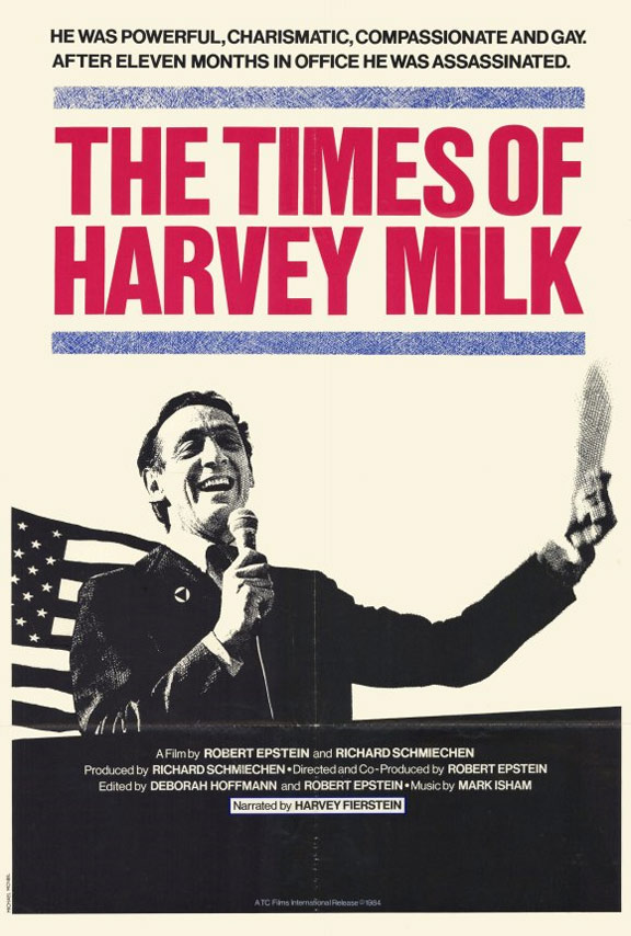 The Times of Harvey Milk Poster #1