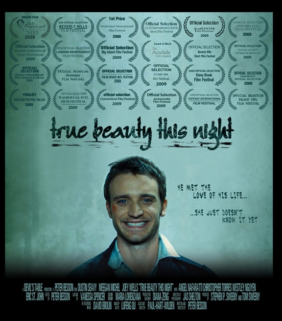 True Beauty This Night Poster
