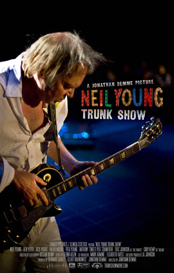 Neil Young Trunk Show Poster #1