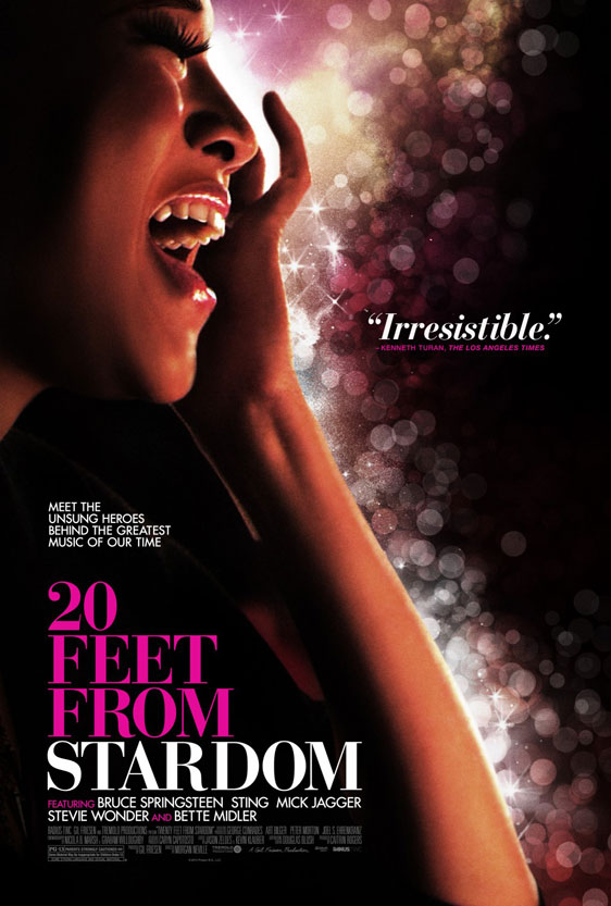 Twenty Feet from Stardom Poster #2