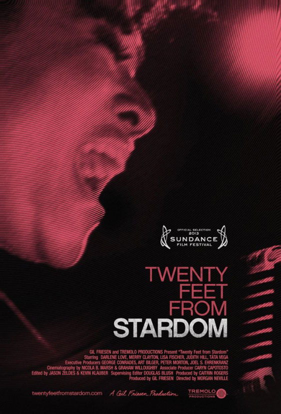 Twenty Feet from Stardom Poster