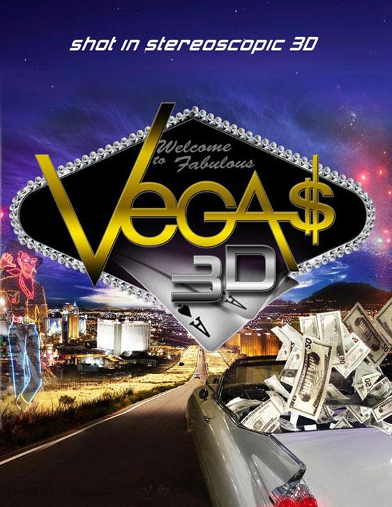Vegas 3D Poster