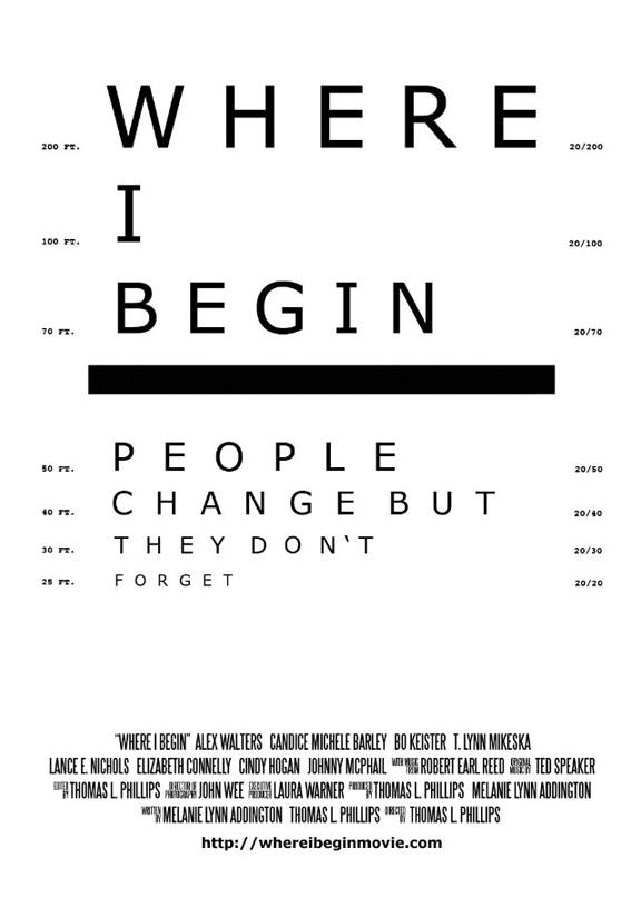 Where I Begin Poster #1
