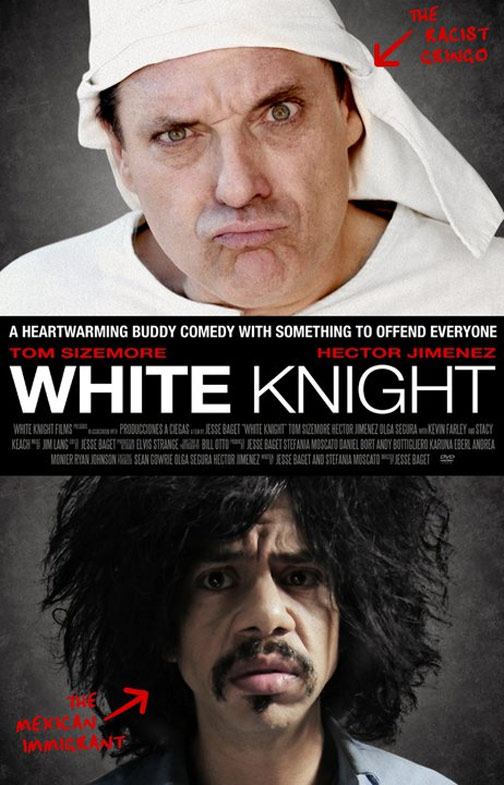 White Knight Poster