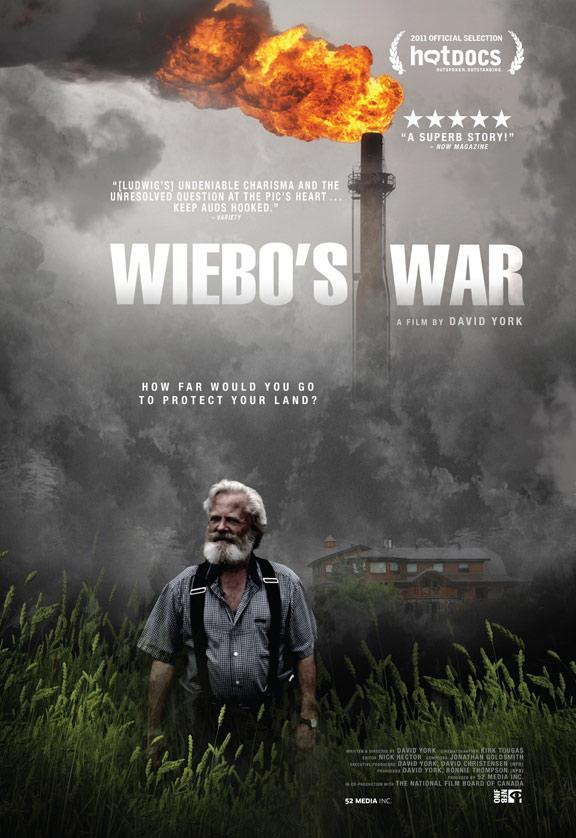 Wiebo's War Poster