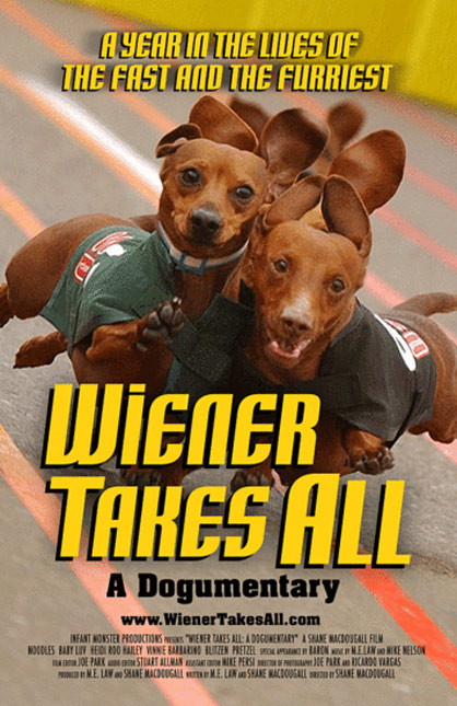 Wiener Takes All: A Dogumentary Poster