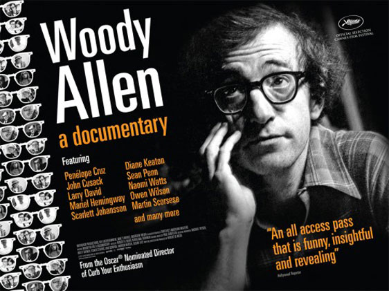 Woody Allen: A Documentary Poster #2