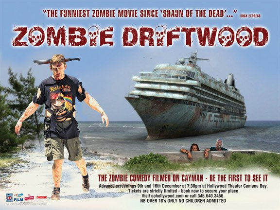 Zombie Driftwood Poster #3