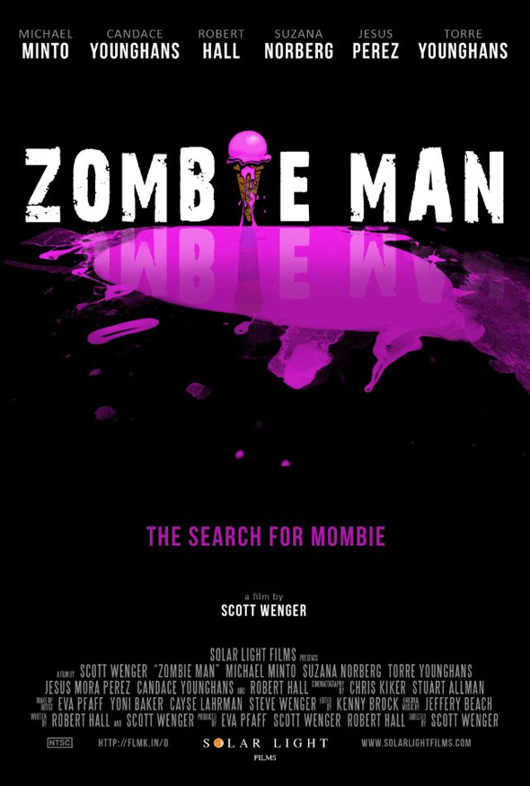Zombie Man Poster #1