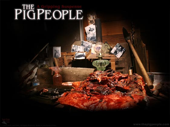 The Pig People Poster