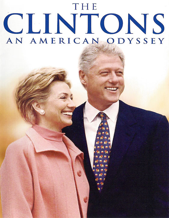 The Clintons-An American Odyssey Poster
