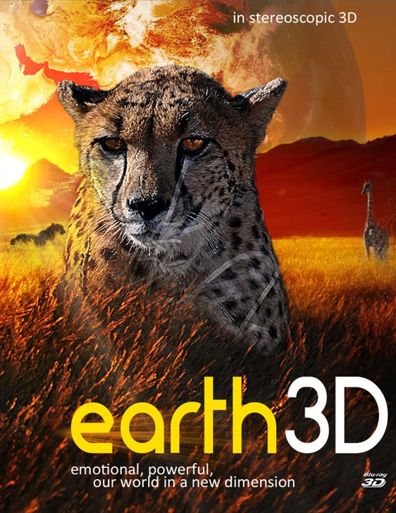 Earth 3D Poster