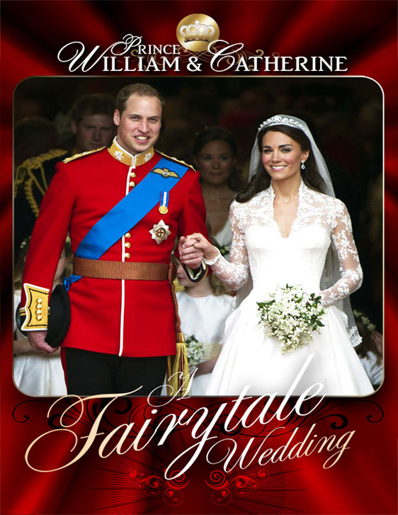William And Kate: A Fairytale Wedding Poster